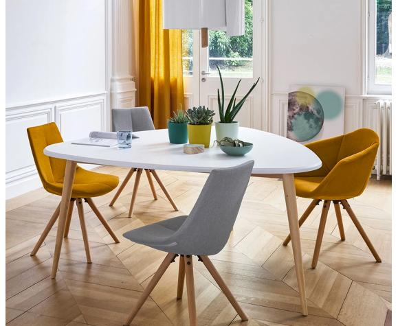 Table salle à manger scandinave