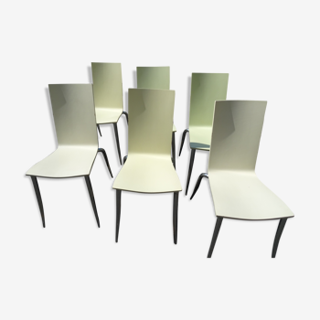 Série de 6 chaises Olly Tango de Philippe Starck