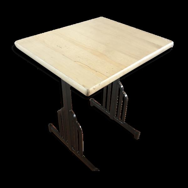 Table bistrot art-deco