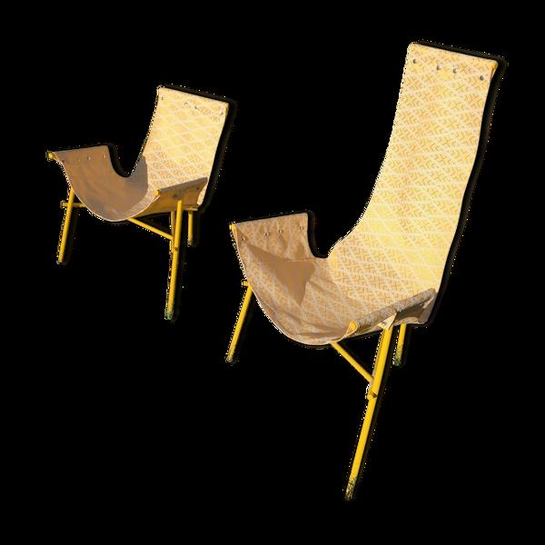 Deux fauteuils Branch