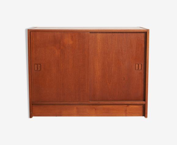 Meuble danois 1960-70 portes coulissantes