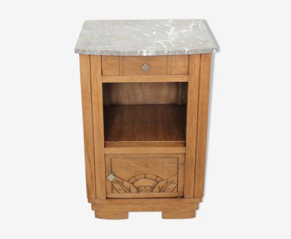 Table de chevet marbre
