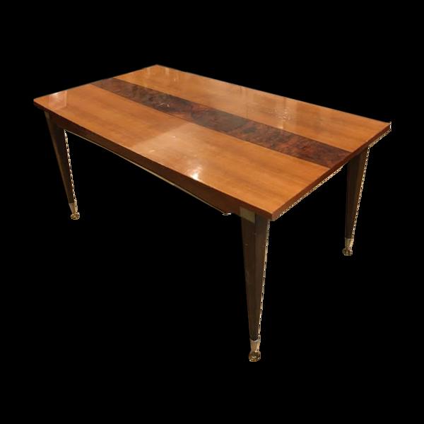 Selency Table de salle à manger design années 50 signée