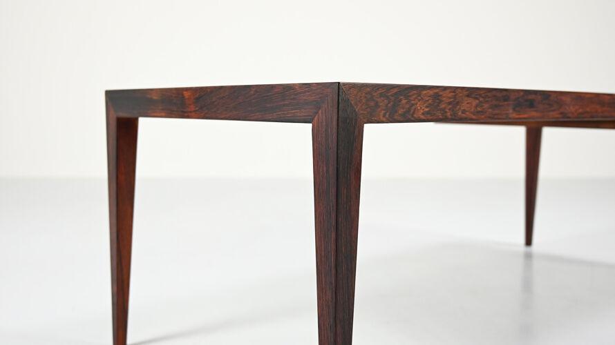 Table basse scandinave par Severin Hansen Jr,  pour Haslev