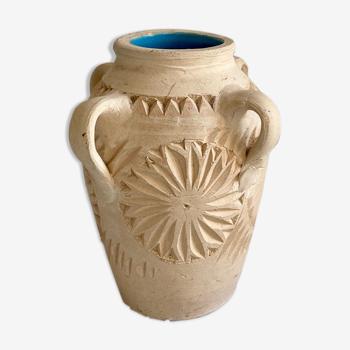 Vase terre cuite naturelle