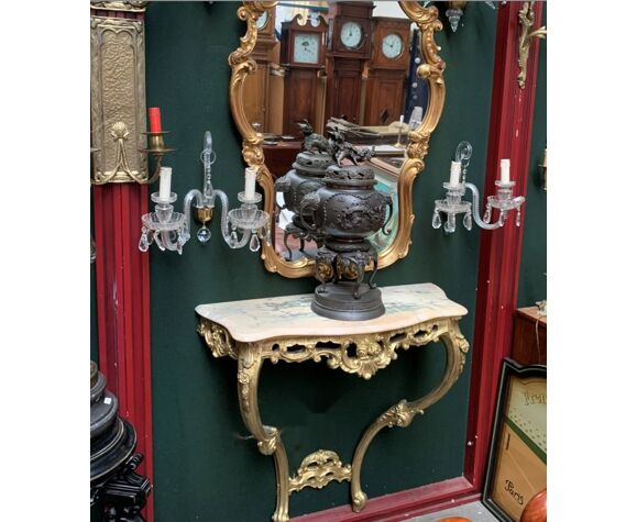 Console de style baroque