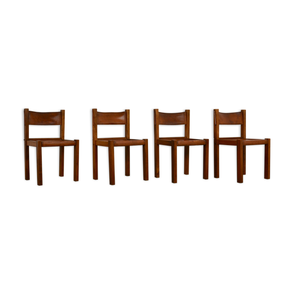Selency Set de 4 chaises 1970S