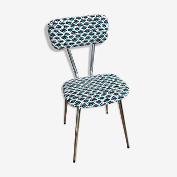 Chaise vintage 60-70s rénovée