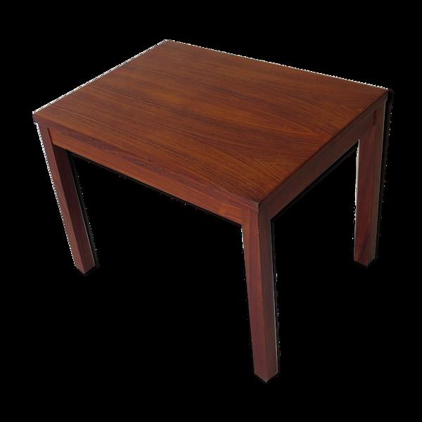 Table basse danoise en bois de rose