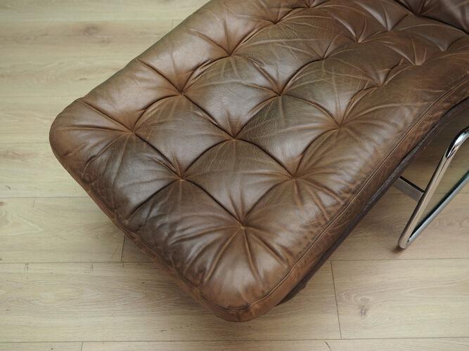Chaise longue rétro 60 70 design danois