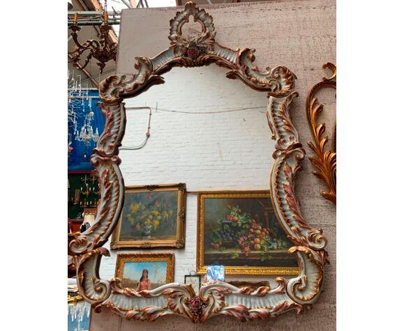 Miroir en porcelaine 76x56 cm