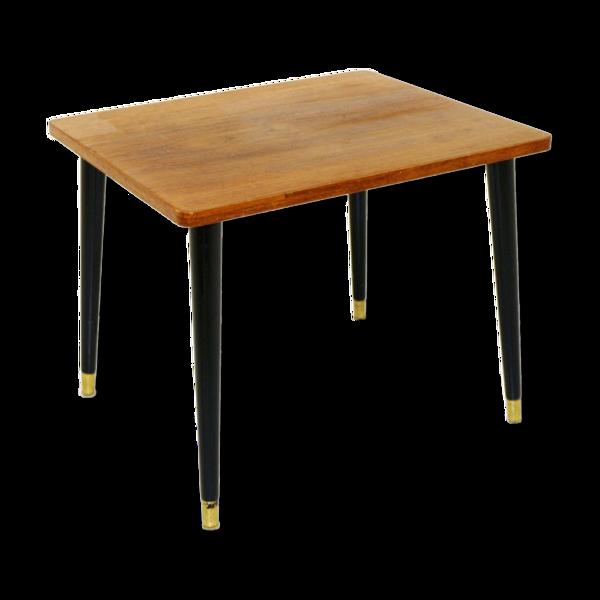 Selency Table d'appoint en teck, Suède, 1950