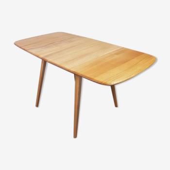 Table à manger Ercol drop leaf 1960