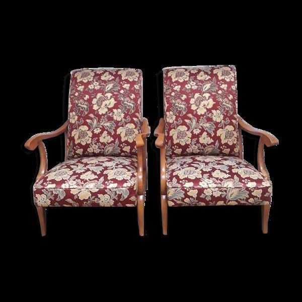 Paire de fauteuils vintage 1950
