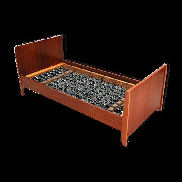 ' 60s teak bed frame