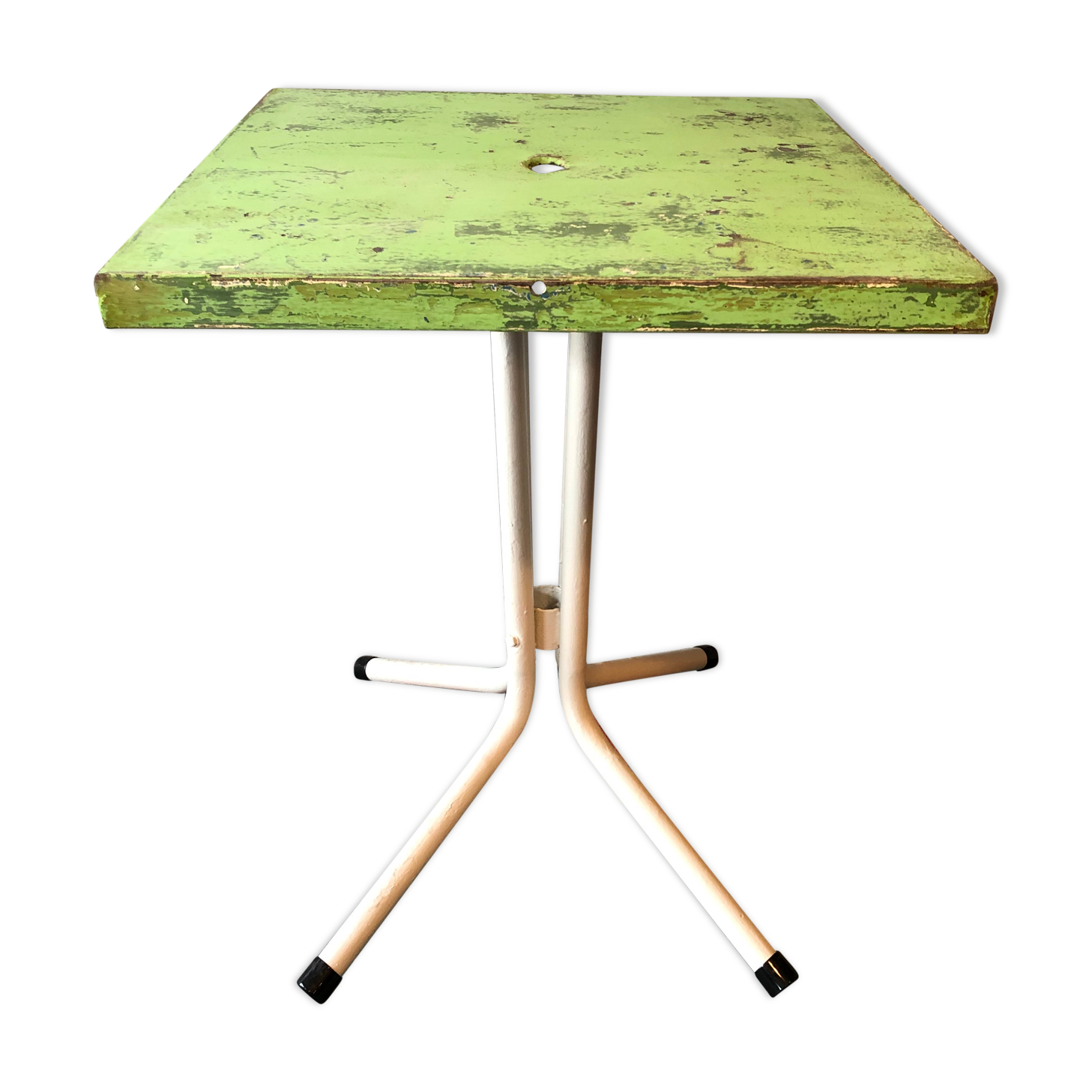 Table bistrot Tolix années 50