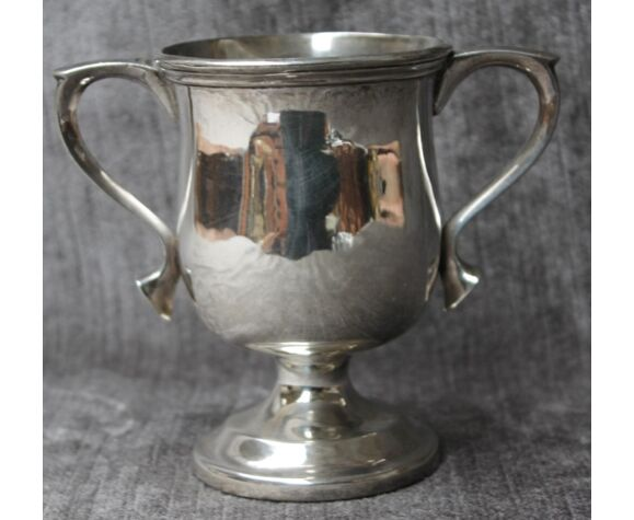 Coupe Allemagne 19e siècle argent massif 935%