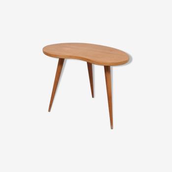Table haricot tripode des années 60