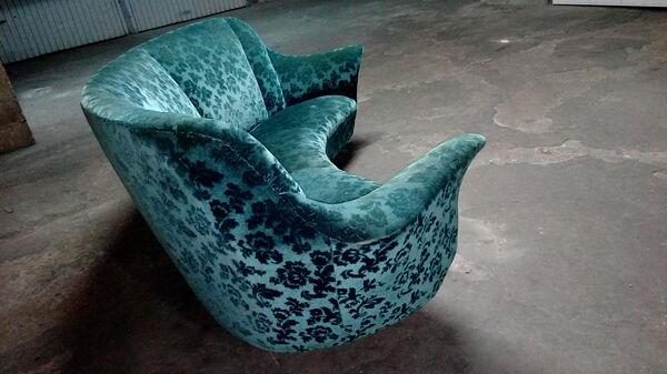 Paire de fauteuils ico parisi années 50/60
