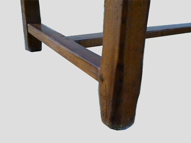 Table de ferme ancienne chêne massif