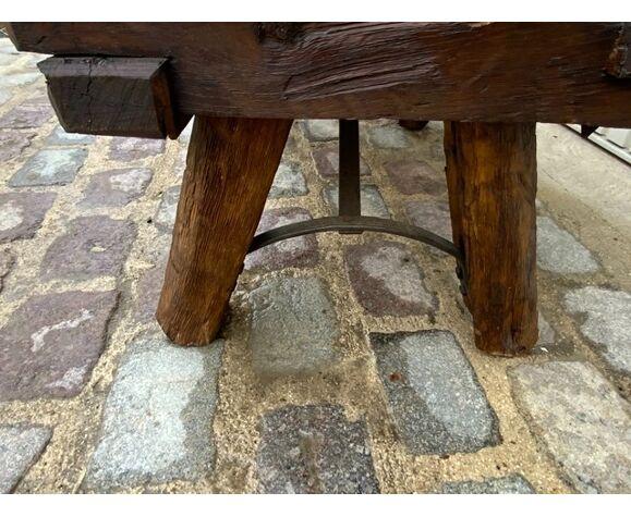 Table basse rustique
