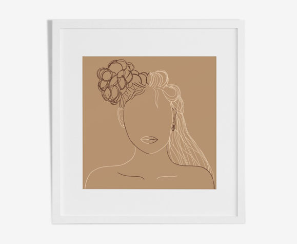"""Illustration """"Mystic Woman"""" par Noums Atelier"""