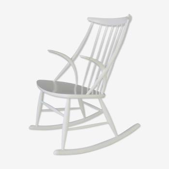 Danish rocking chair by Illum Wikkelso