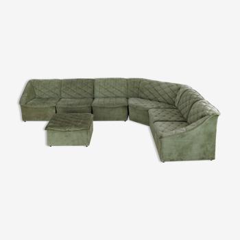 Canapé d'élément de xl vintage des seventees