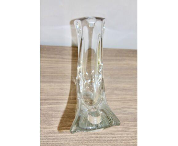 bougeoir cristal Daum