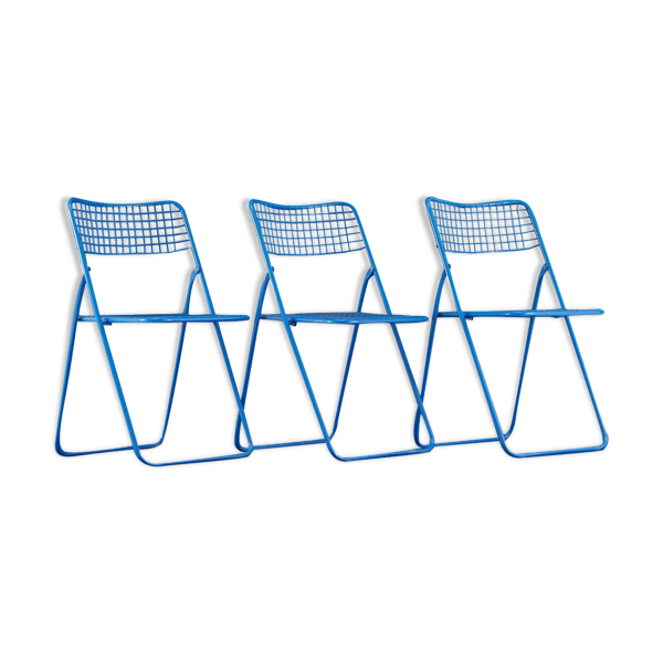 Chaises pliantes Ikea vintage Neils Gammelgaard