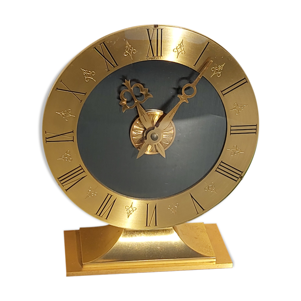 Pendulette bronze maison Charvet