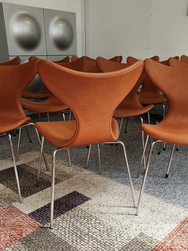 Chaise modèle mouette par Arne Jacobsen pour Fritz Hansen 1970