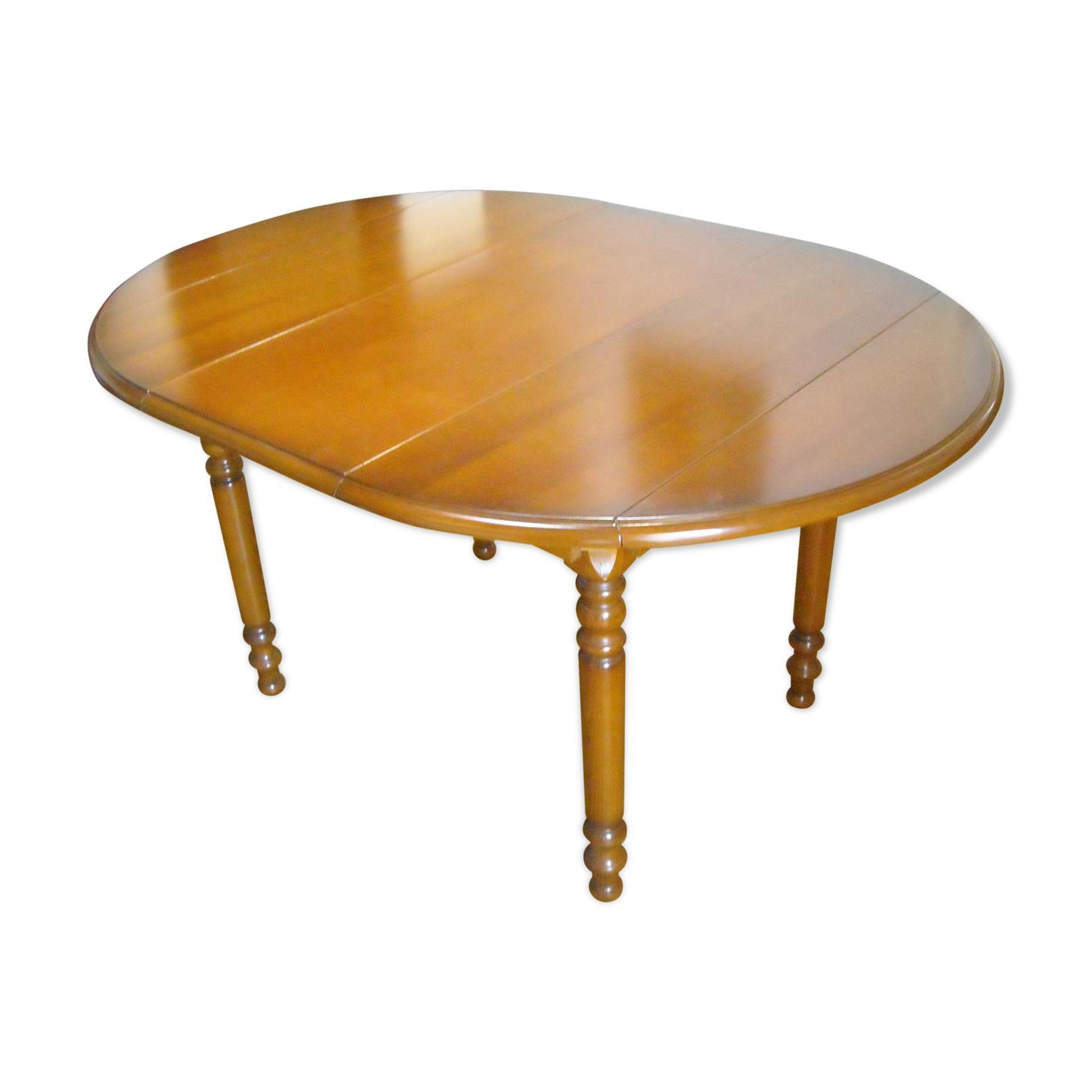 Table salle à manger en merisier