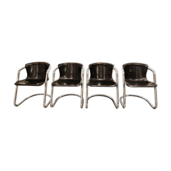 Chaises à manger pour cidue ensemble de 4, années 1970