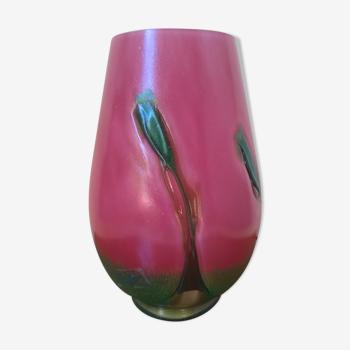 Lampe de table en pâte de verre La Rochère France