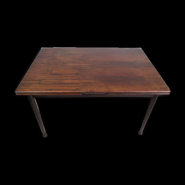 Table en bois de rose, années 1960