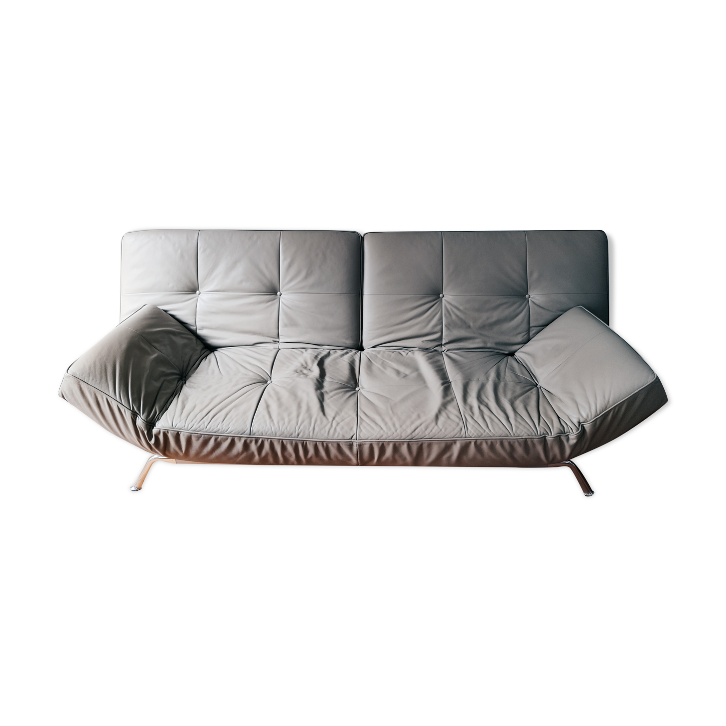 Smala canapé cuir de Pascal Mourgue