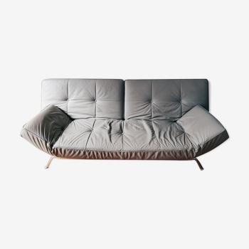 Smala sofa leather by Pascal Mourgue