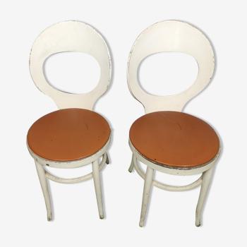 Paire de chaise Baumann Mouette