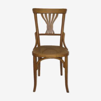 Chaise walter Baumann de bistrot des années 30