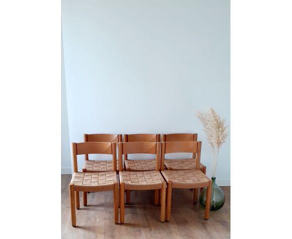 Chaise modèle 6200 de Robert et Trix Haussmann