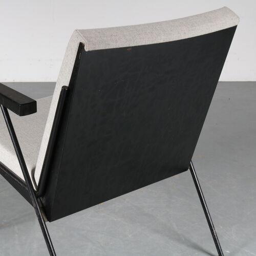 Fauteuil modèle «l'oase», conçue par Wim Rietveld et fabriquée par Gispen aux Pays-Bas vers 1950