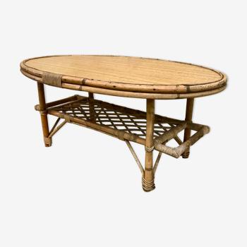 Table rotin années 50