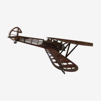 Maquette avion en bois stearman pt 17