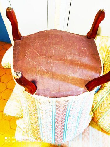 Salon style crapaud Napoléon III