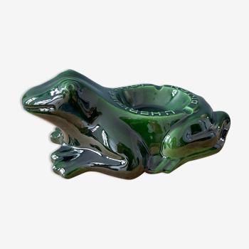 Cendrier grenouille L'Héritier-Guyot Dijon début XXème