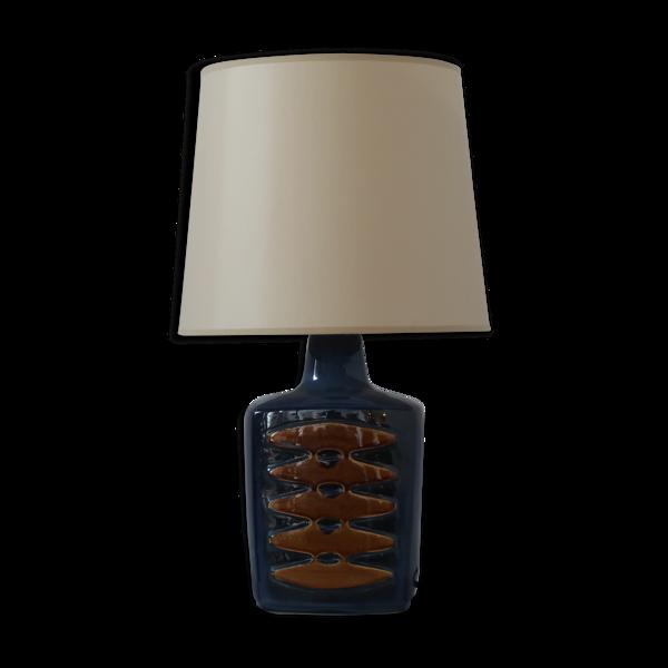 Lampe de table en céramique Einar Johansen pour Soholm Danemark 1960