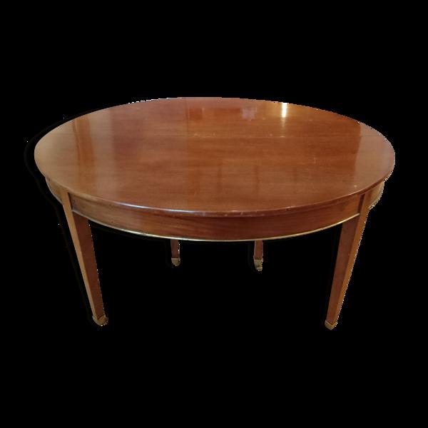 Table en acajou XIXe siècle  6 personnes