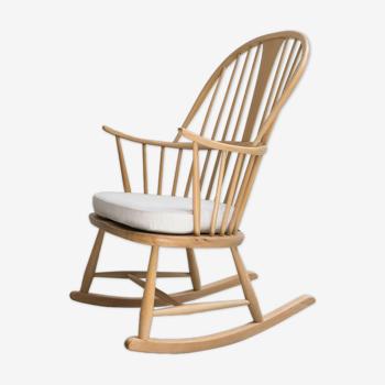 Rocking chair model 7912 par L. Ercolani pour Ercol, Royaume-Uni des années 1960