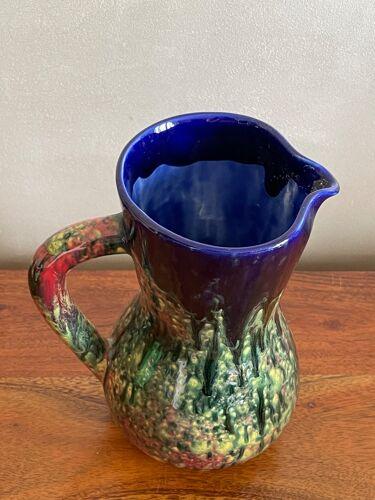 Pichet Morvan en céramique vernissée